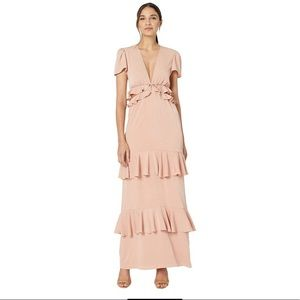 WAYF Lavins Cutout Maxi Dress